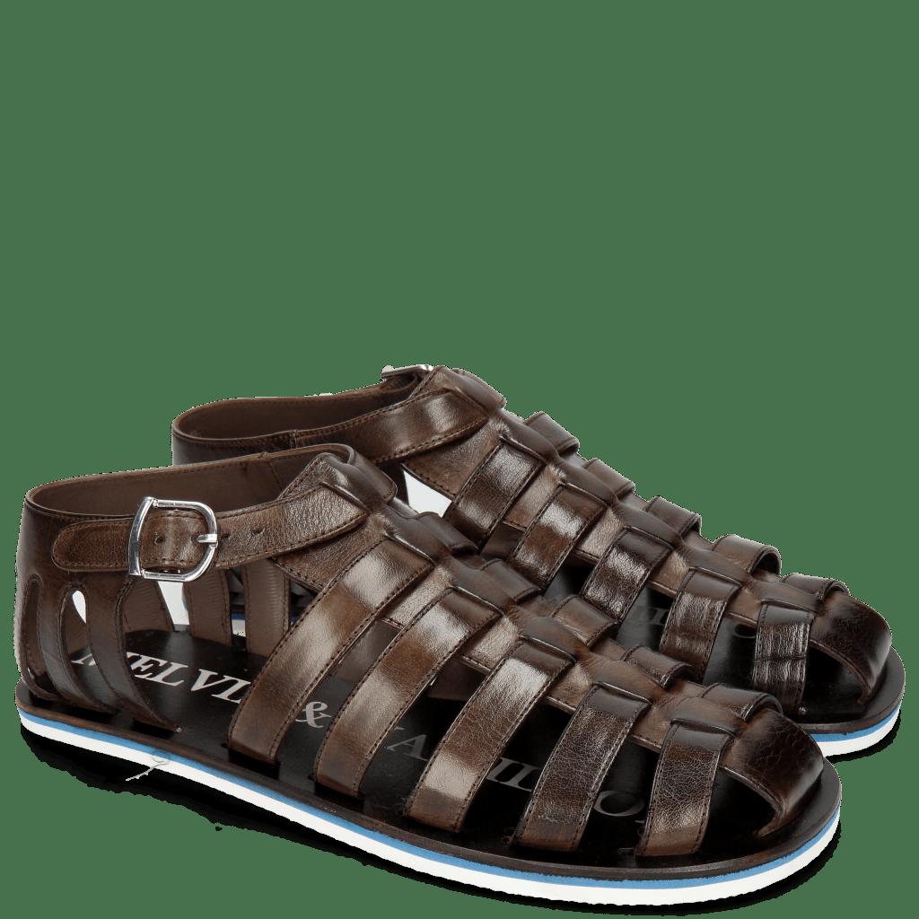 Sandalen Sam 3 Classic Dark Brown