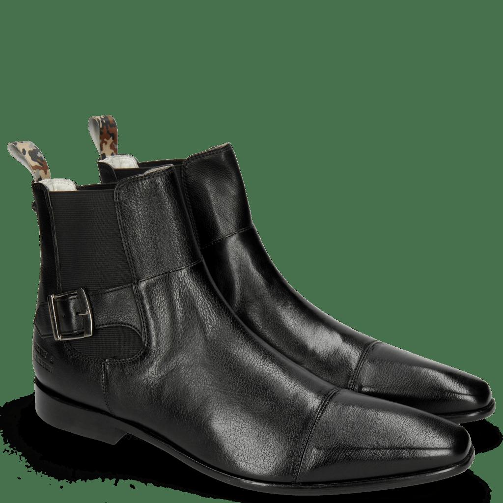 Enkellaarzen Elvis 61 Pavia Black Loop Camo