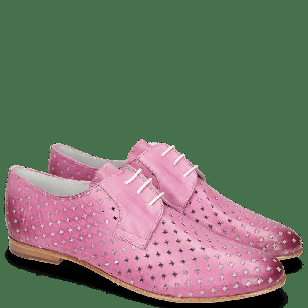 Derby schoenen Monica 2 Vegas Perfo Diamond Lilac