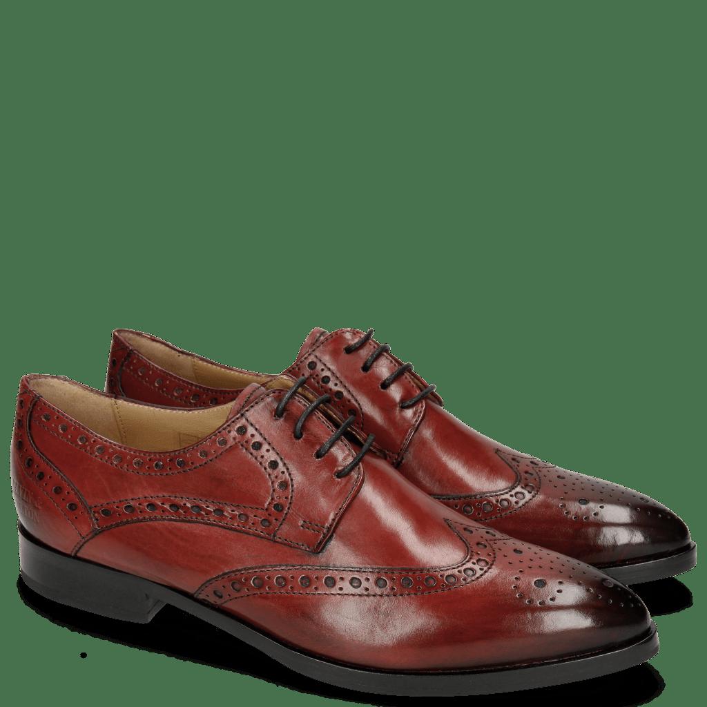 Derby schoenen Jessy 6 Rio Red