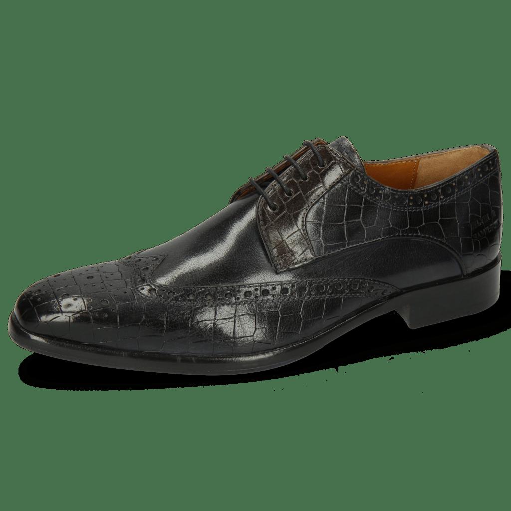 Derby schoenen Lewis 3 Crock London Fog Deep Steel