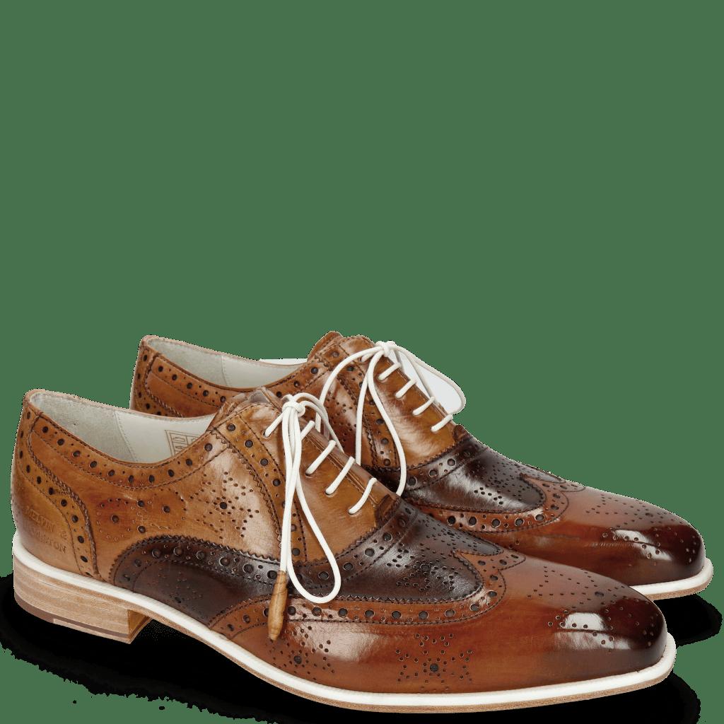 Oxford schoenen Jeff 28 Tan Mid Brown Nougat Make Up Nude