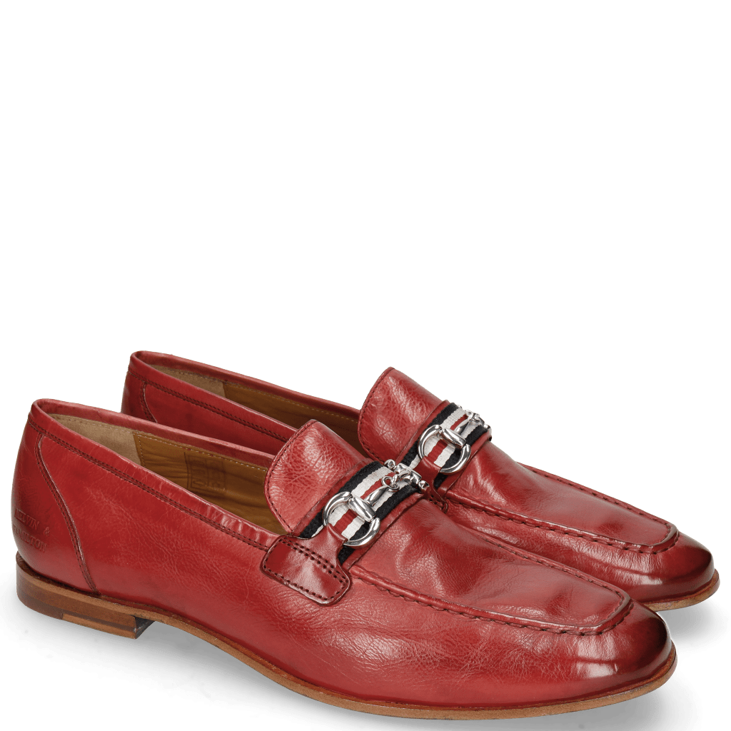 Loafers Clive 16 Pisa Ruby Strap French Trim