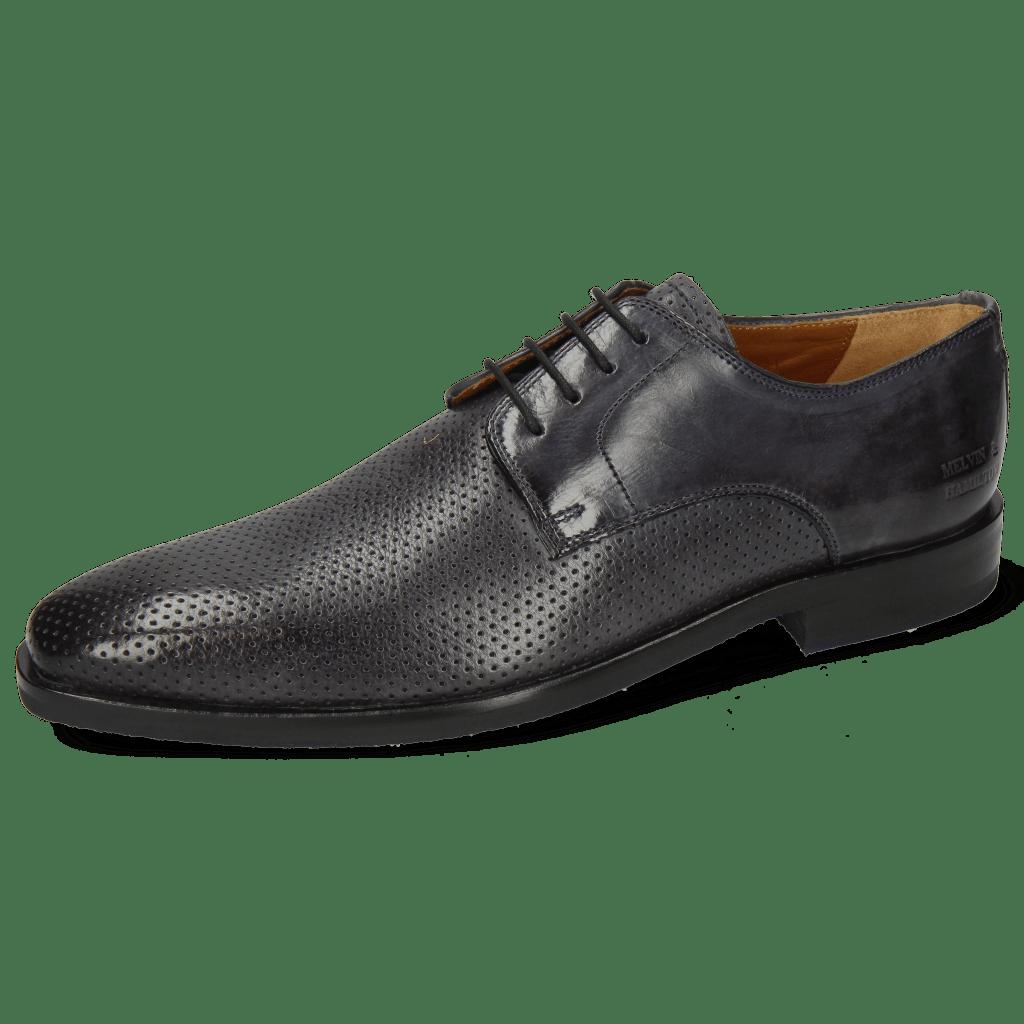 Derby schoenen Alex 1 Berlin Perfo Navy