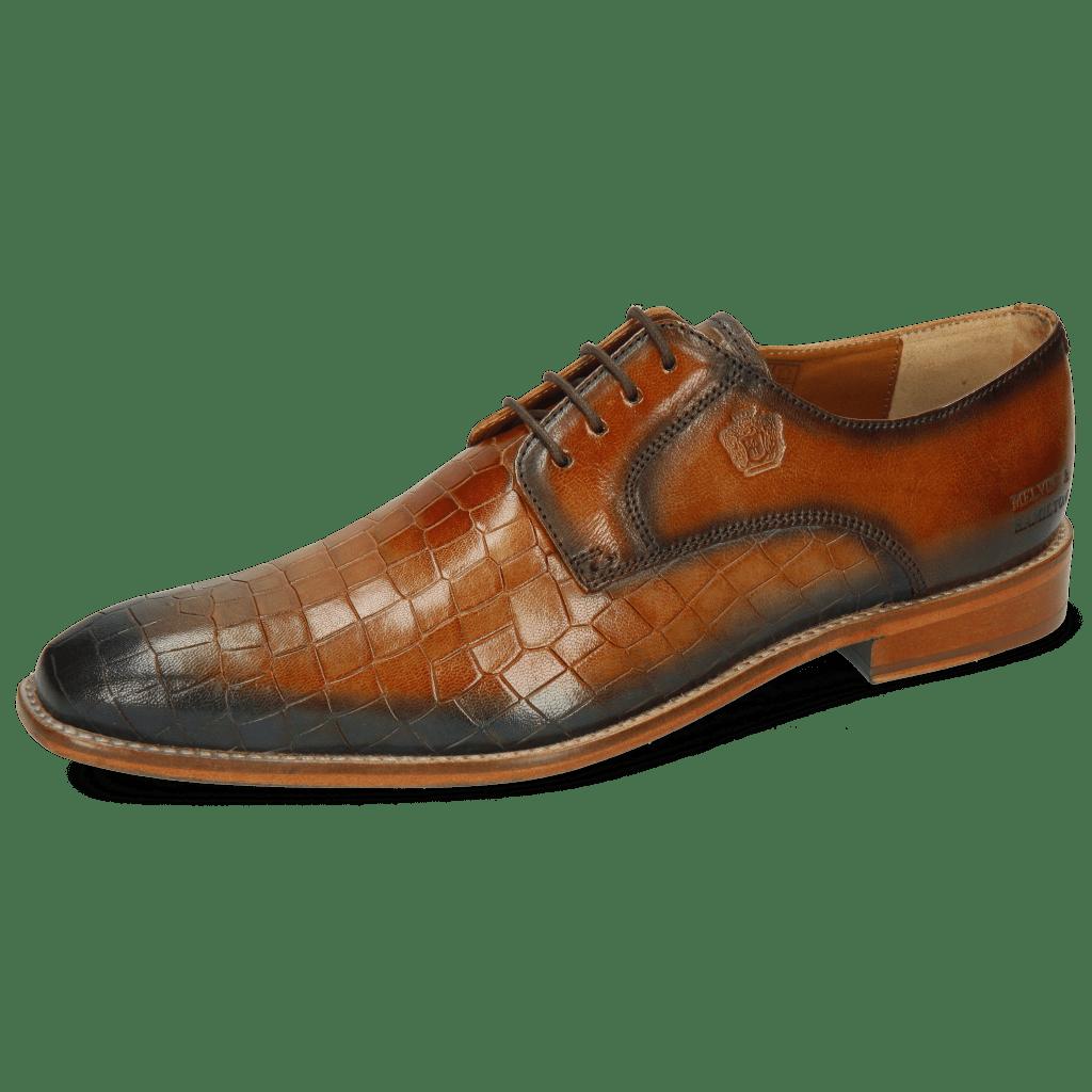 Derby schoenen Martin 1 Venice Crock Tan Shade Wind