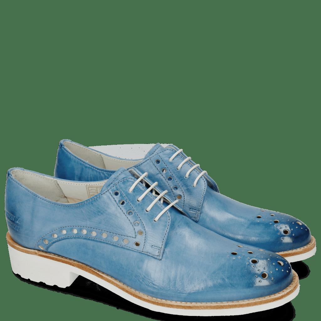 Derby schoenen Amelie 7 Vegas Bluette
