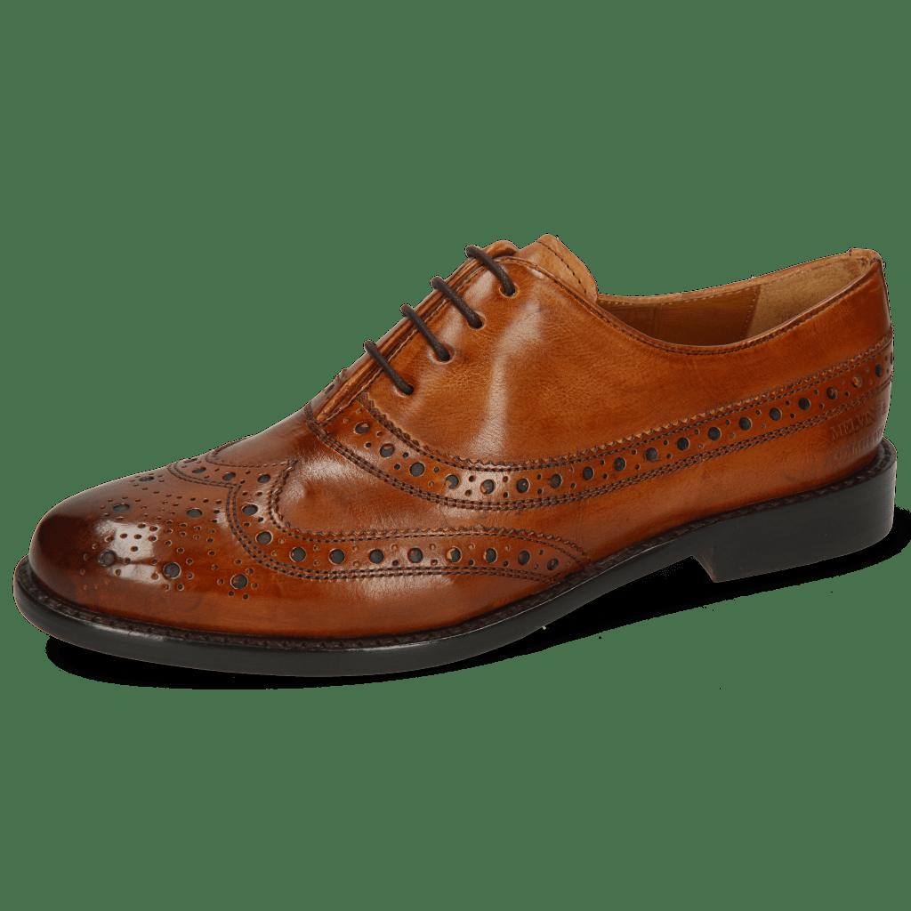 Oxford schoenen Selina 8 Pisa Classic Cognac