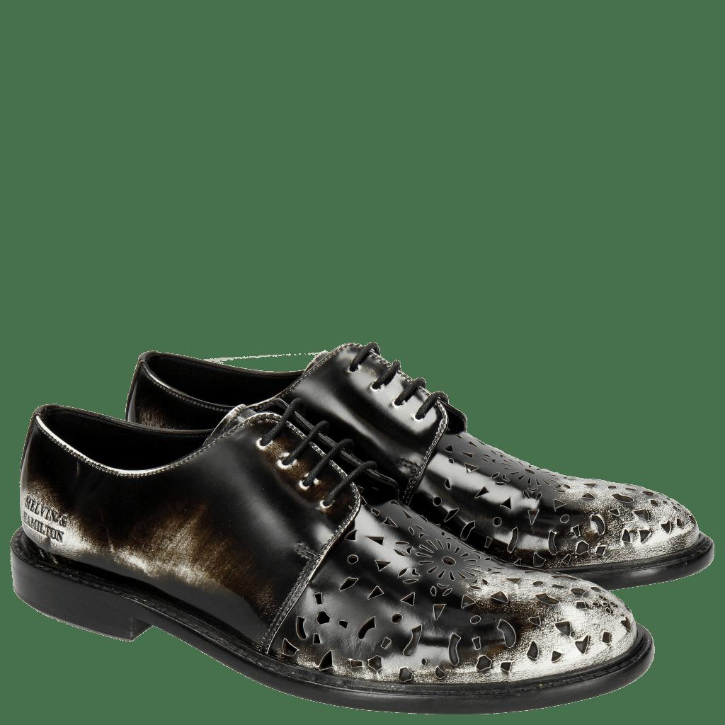 Derby schoenen Sally 41 Brush Off White