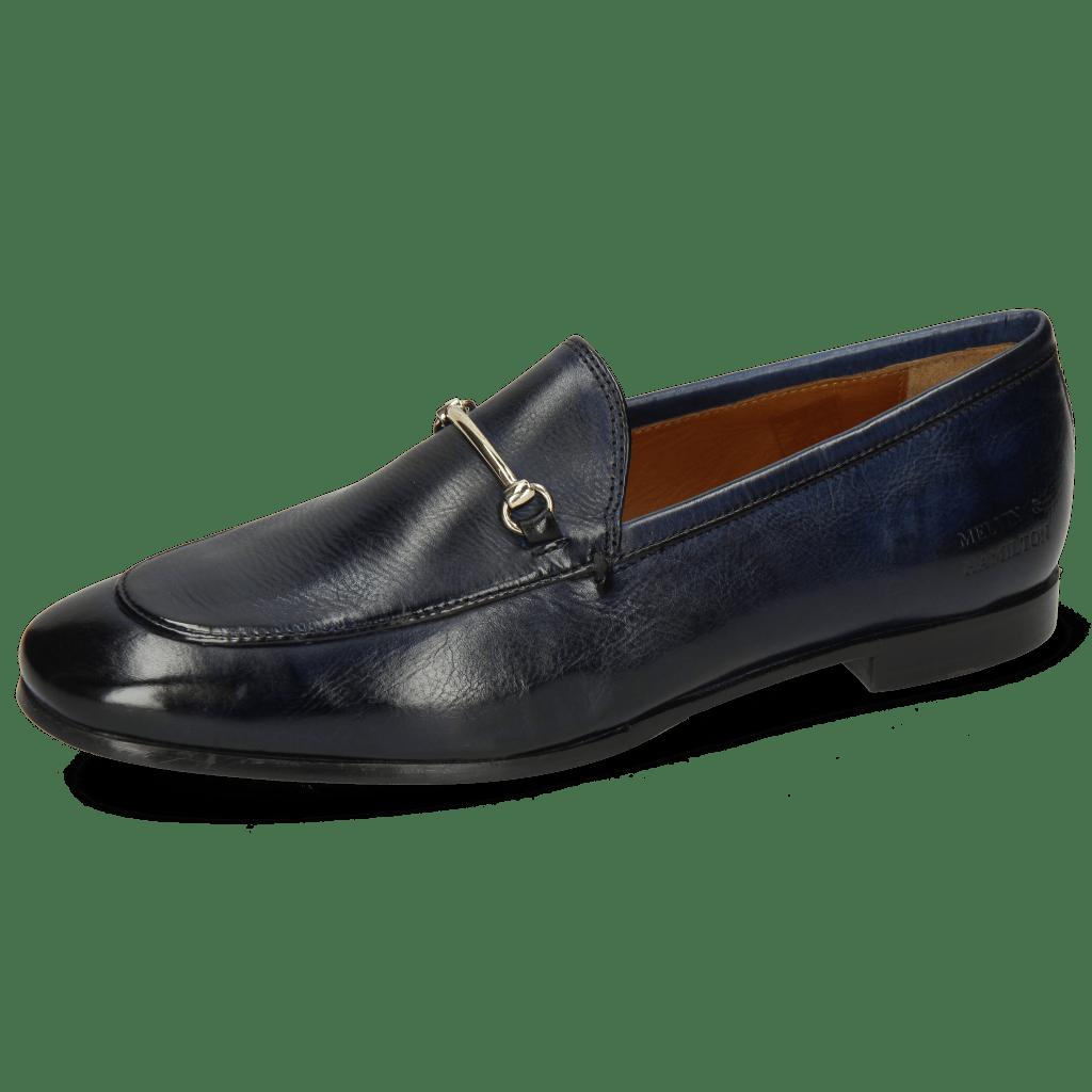 Loafers Scarlett 22 Pisa Navy Trim Gold