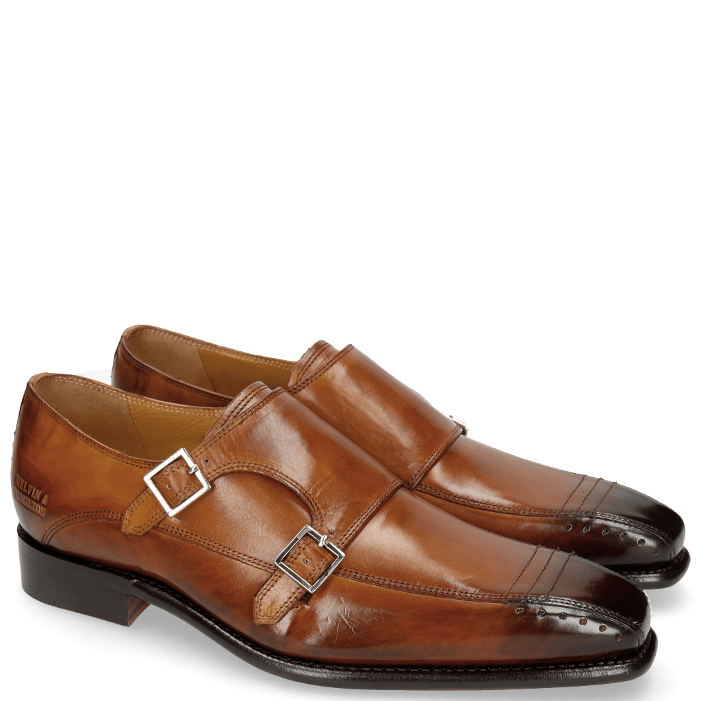 Monks Stanley 4 Tan LS Brown