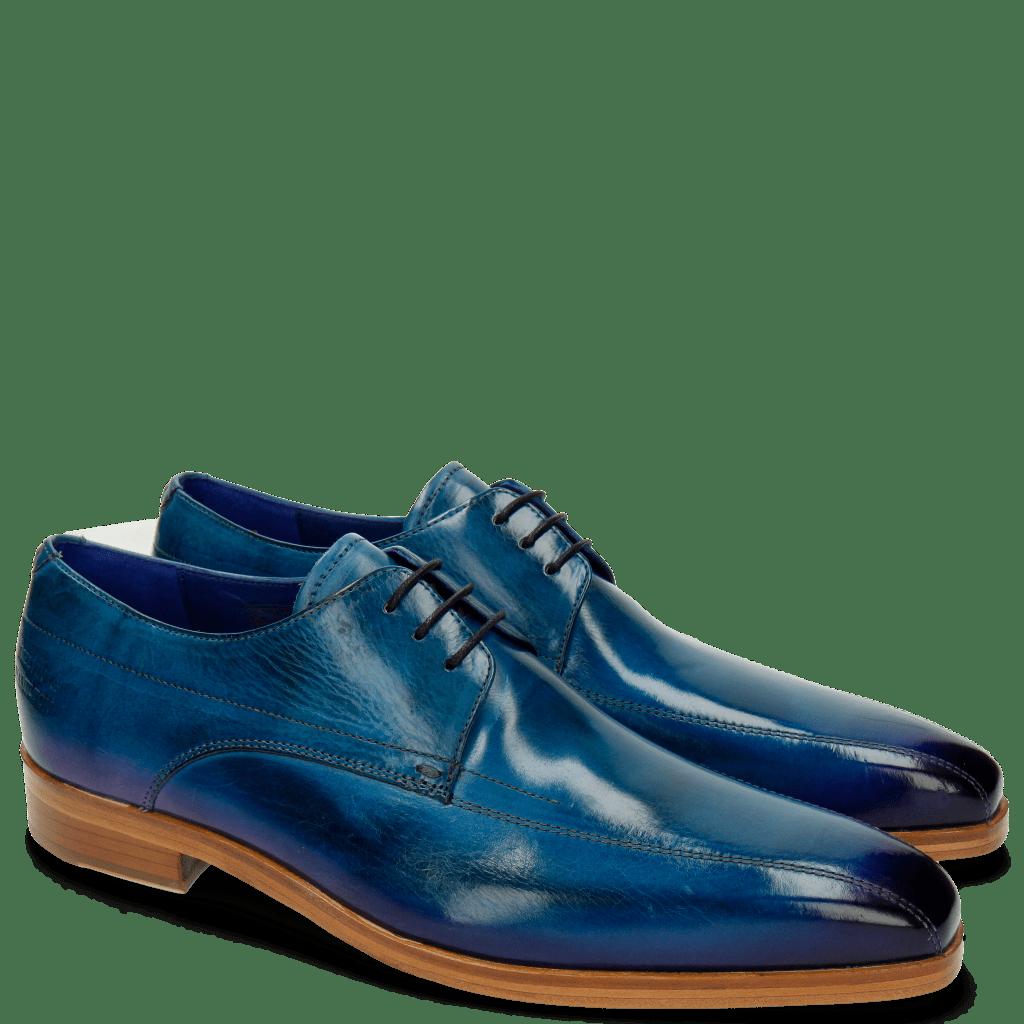 Derby schoenen Lewis 10 Bluette Shade Eggplant