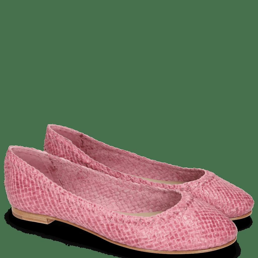 Ballerina's Kate 5 Woven Fuxia