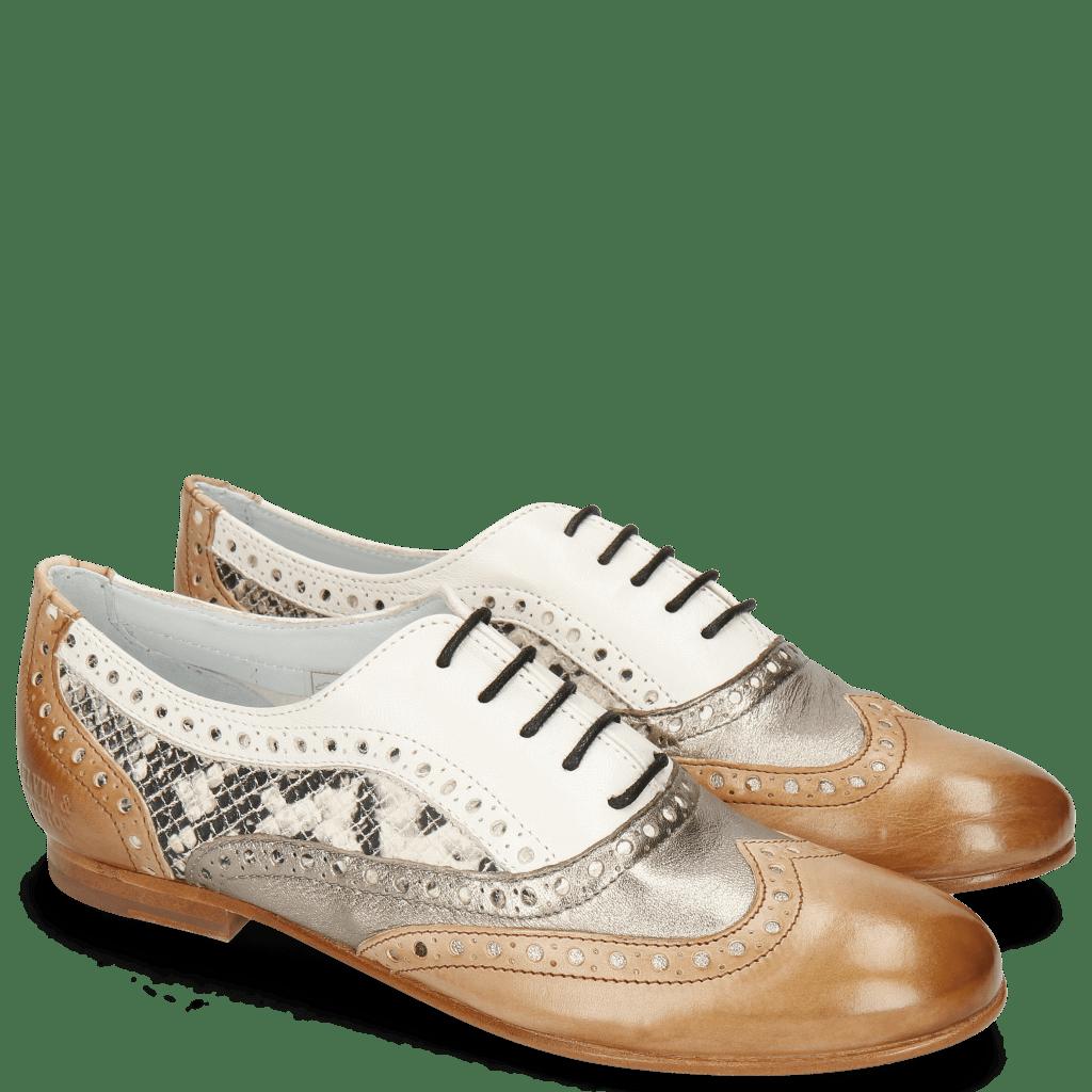 Oxford schoenen Sonia 1 Vegas Make Up Talca Pewter