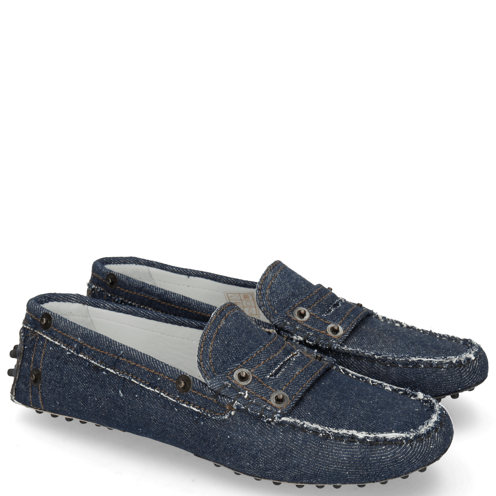 Loafers Caroline 1 Denim Dark Blue