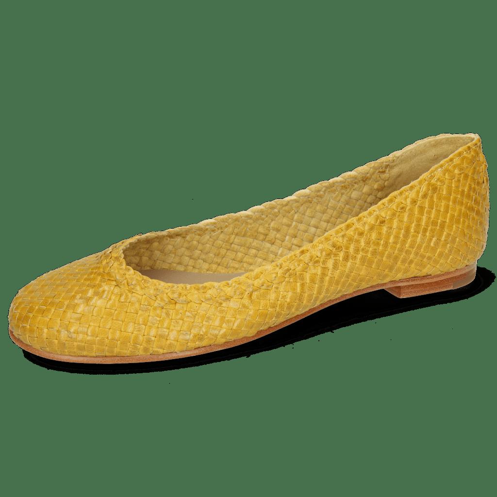 Ballerina's Kate 5 Woven Yellow