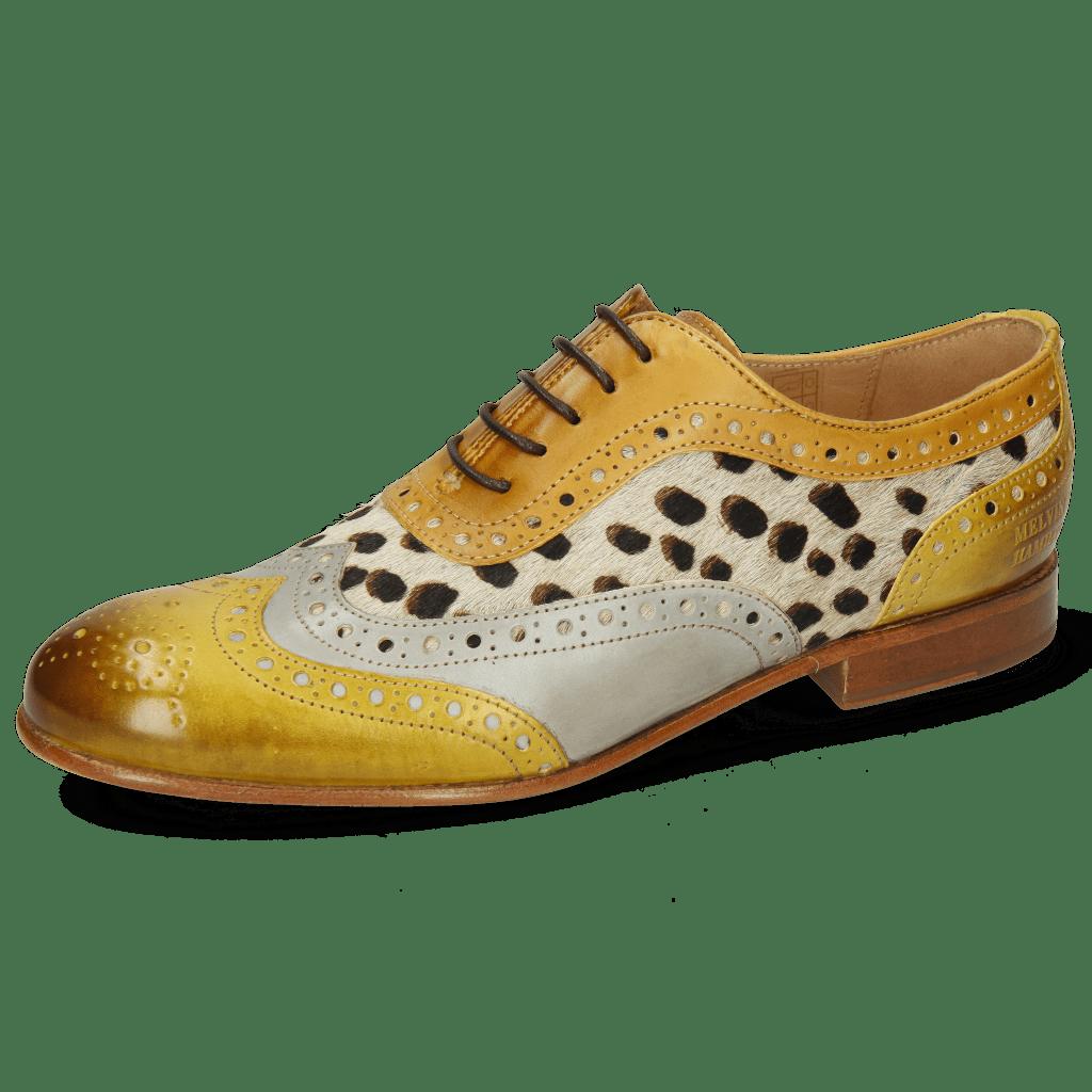 Oxford schoenen Sally 97 Vegas Olivine Digital Sand Hairon Wildcat