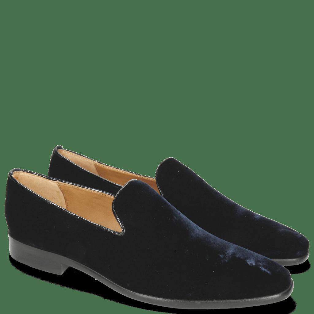 Loafers Emma 9 Velluto Midnight