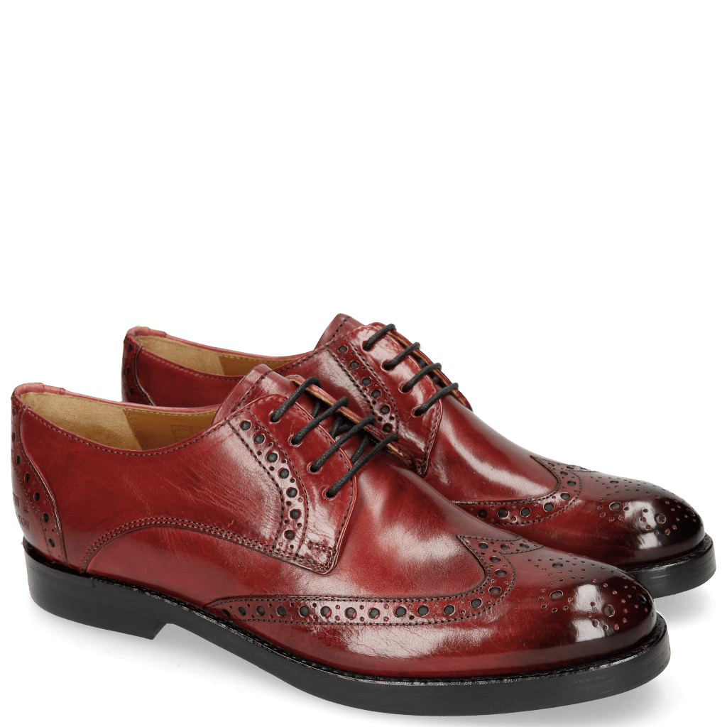 Derby schoenen Amelie 3 Ruby