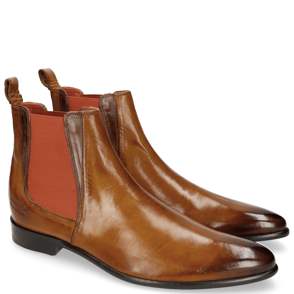 Enkellaarzen Toni 6 Camel Dark Brown