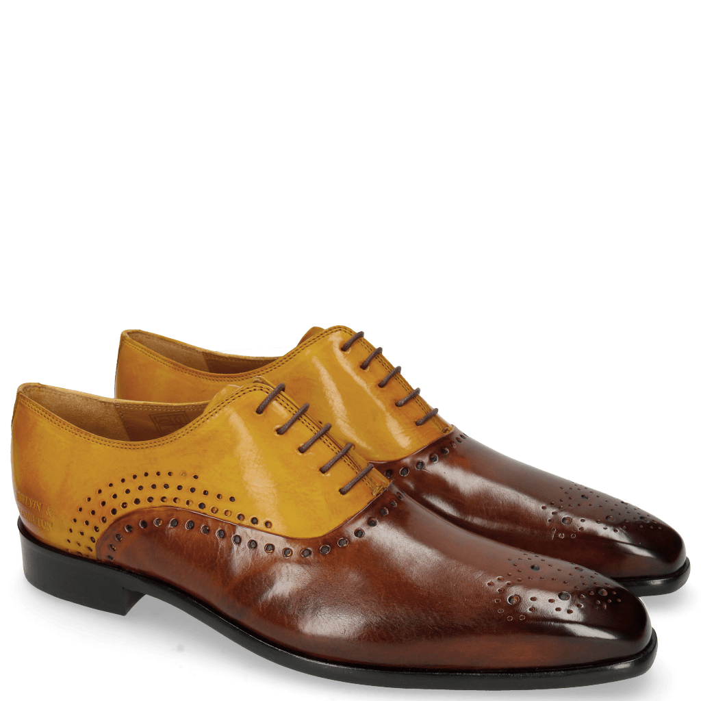 Oxford schoenen Lewis 41 Wood Yellow