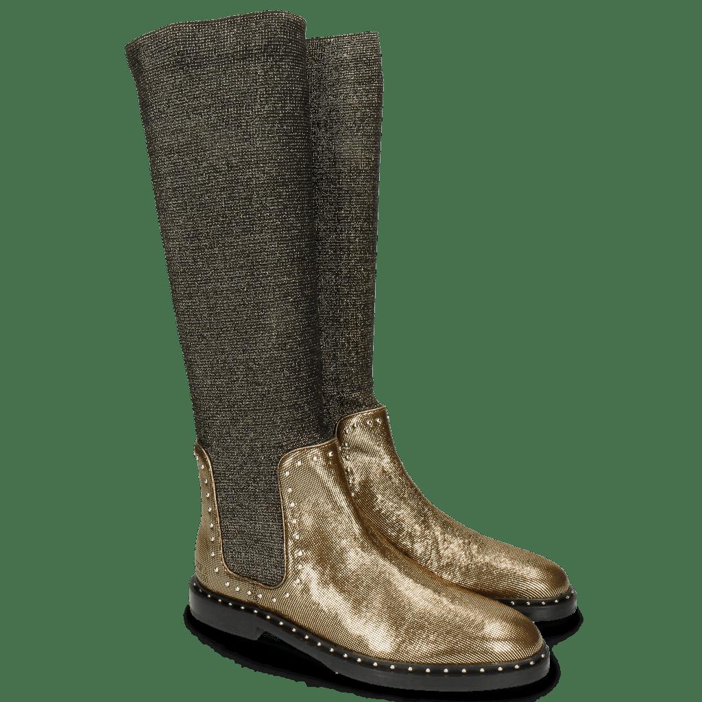 Laarzen Susan 52 Fermont Stafy Gold Rivets