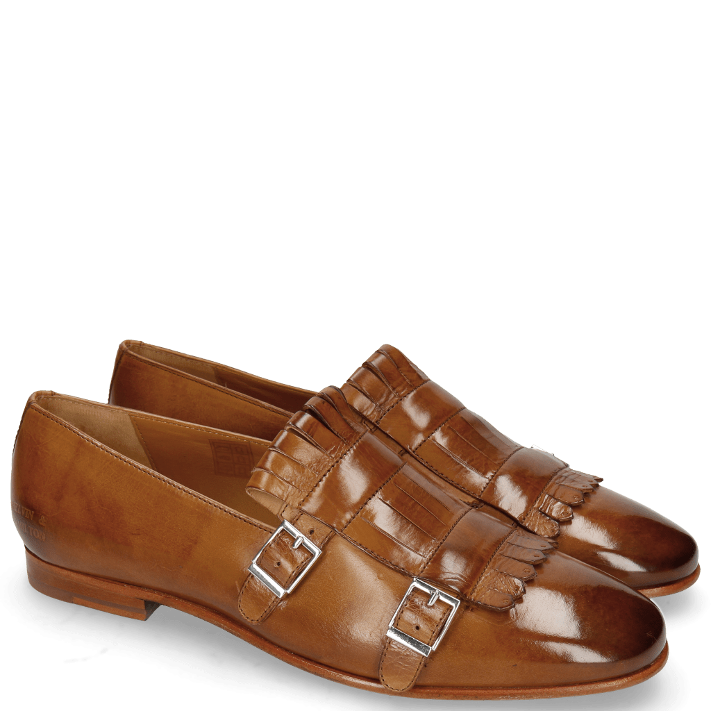 Loafers Clive 18 Wood Lining Nappa Rich Tan