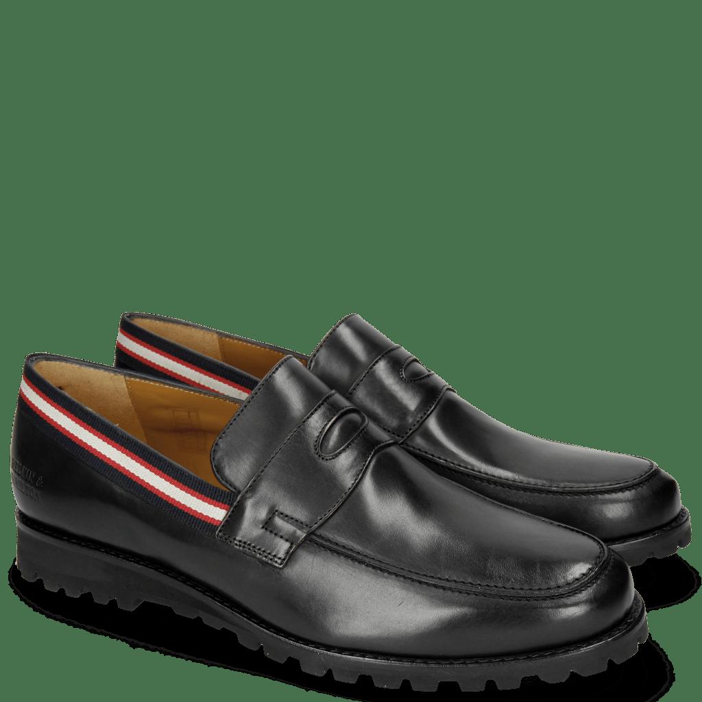 Loafers Pit 4 Black Strap
