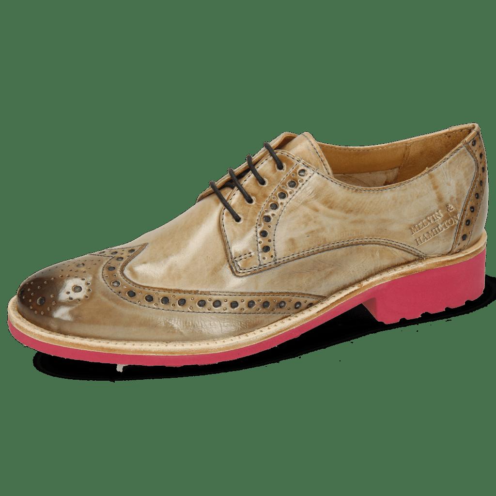 Derby schoenen Amelie 3 Crust New Sand