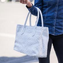 Handtassen Kimberly 1 Woven White