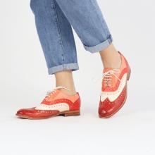 Oxford schoenen Amelie 10 Vegas Rubino White Fiesta Earthly Rio Red