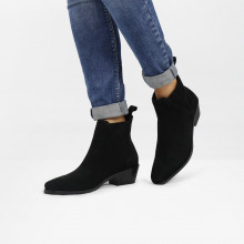 Enkellaarzen Kylie 1 Suede Pattini Black