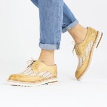 Derby schoenen Amelie 3 Imola Beige Line Natural
