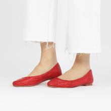 Ballerina's Kate 5 Woven Red LS