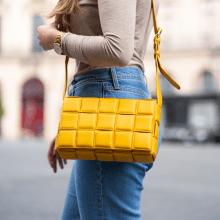 Handtassen Pippa 1 Nappa Yellow