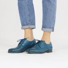 Derby schoenen Selina 23 Pavia Perfo Bluette