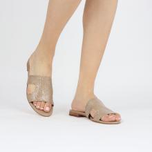 Muiltjes Hanna 74 Woven Brume Socks Foam