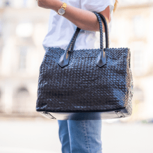 Handtassen Kimberly 1 Woven Black