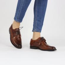 Derby schoenen Selina 41 Wood Lining Rich Tan