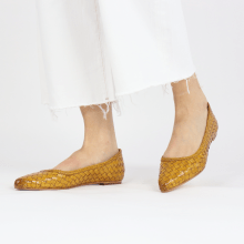 Ballerina's Lydia 3 Woven Scale Yellow Lining