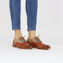 Oxford schoenen Selina 24 Tan Arancio Satellite Make Up