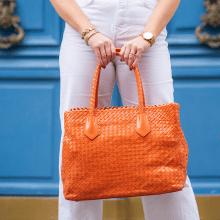 Handtassen Kimberly 1 Woven Orange