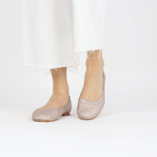 Ballerina's Kate 5 Woven Rose Gold