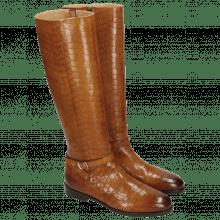 Laarzen Susan 71 Crock Wood Lining Rich Tan Brown