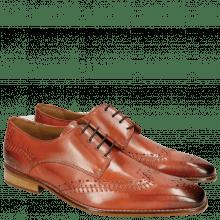 Derby schoenen Clark 1 Orange