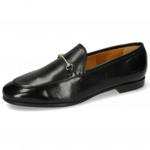 Loafers Scarlett 1 Black Trim Gold RS Brown