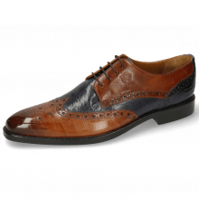 Derby schoenen Martin 15  Berlin Wood Navy