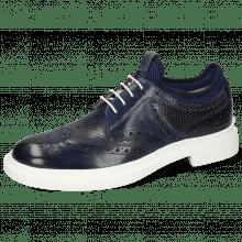 Derby schoenen Ron 2 Venice Perfo Navy