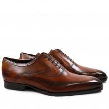 Oxford schoenen Woody 3 Tan Brown Red Washed