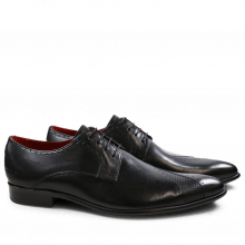 Derby schoenen Toni 8 Crust Black Crust Perfo Black LS Black