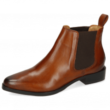Enkellaarzen Marlin 4 Wood Elastic Dark Brown